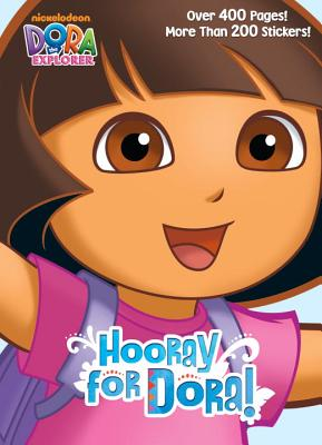 Hooray for Dora! Super Jumbo Coloring Book By Golden Books Publishing Company (COR)